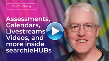 Assessments, Calendars, Livestreams, Videos, and more inside searchieHUBs